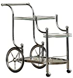 Product review for Hardy 3 Tier Serving Cart-Chrome,Clear