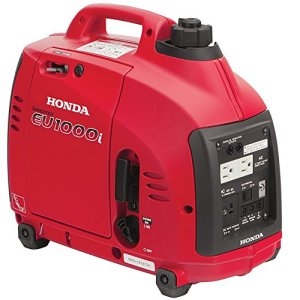 Honda Power Equipment EU1000T1A 1,000W Portable Generator CARB, Steel