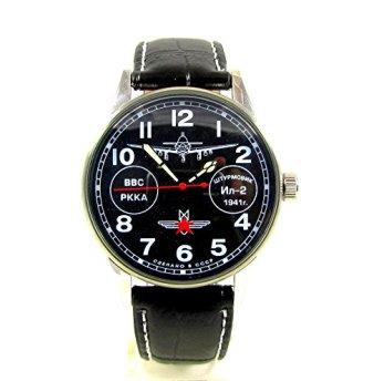 Poljot Fighter Mens Wrist Watch Plane 2609 Russian Watch Rare