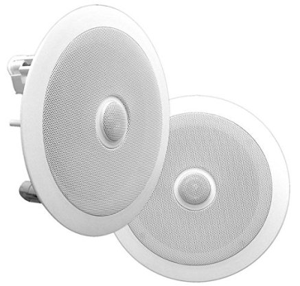 Pyle PDIC60 In-Wall / In-Ceiling Dual 6.5-Inch Speaker