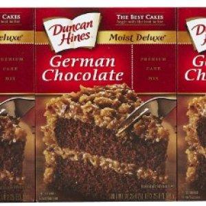 Duncan Hines German Chocolate Cake Mix 468g 51Zm38SOrML