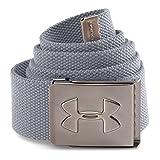 Under Armour Men's Webbed Belt, Steel /Graphite, One Size