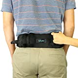 Vive Transfer Belt with Handles - Medical Nursing Safety Gait Patient Assist - Bariatric, Pediatric, Elderly, Handicap, Occupational & Physical Therapy - PT Gate Strap Quick Release Metal Buckle
