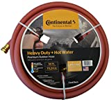 Continental ContiTech Red Hot Water Heavy Duty Garden Hose, 5/8' ID x 50 Feet Length