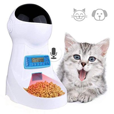 Automatic cat feeder