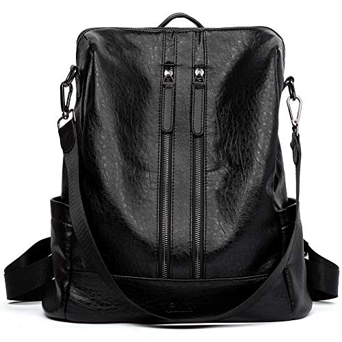CLUCI-Women-Backpack-Purse-Leather-Fashion-Travel-Casual-Detachable-Ladies-Covertible-Shoulder-Bag