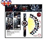 Children Batman VS Superman Watch With Projector,Kids Watch,Children Watch ,Digital Watch