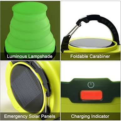 Odoland-USB-Rechargeable-Solar-Lantern-3-Modes-Collapsible-LED-Camping-Lantern-Emergency-Light-Ultra-Bright-LED-Tent-Light-Portable-Camping-Gear-for-Hiking-Emergencies-Hurricane-Outages