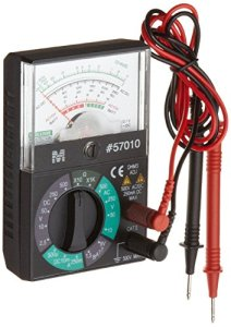 Morris Products 57010 Analog Multimeter