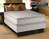 """Product review for Dream Solutions Pillow Top Mattress and Box Spring Set (Full 54""""x75""""x12"""") Double-Sided Sleep System with Enhanced Cushion Support- Fully Assembled, Great for your Back, Longlasting Comfort"""