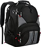 17 Inch Laptop Backpack,Extra Large Travel Backpacks for Men and Women,TSA Friendly Durable Computer Backpack with USB Charging Port,Water Resistant College School Bookbag with Luggage Sleeve