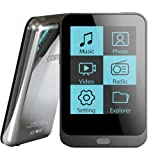 Coby MP823-8GBLK 8 GB 2-Inch Video MP3 Player with FM Radio (Black) (Discontinued by Manufacturer)