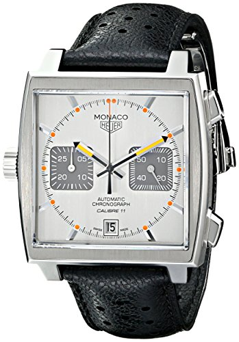 51a6KikALWL Tag Heuer Monaco automatic chronograph men's watch caw211c.fc6241 Calibre 11, date, hour, minute, second Swiss-automatic Movement