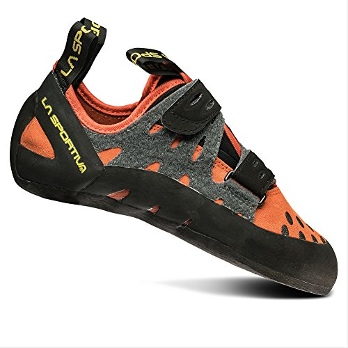 La Sportiva Men's Tarantula Beginner Rock Climbing Shoe, Flame, 42.5 M EU
