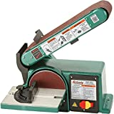 Grizzly G0547 Combo Sander with 6-Inch Disc Belt, 4 x 36-Inch