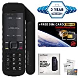 2019 Unlocked IsatPhone 2.1 Satellite Phone - Voice, SMS, GPS Tracking, SOS Global Coverage - Water Resistant - SIM Card Included (No Airtime) - Prepaid and Monthly Plans Available