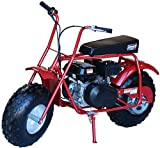 Coleman Powersports 196cc/6.5HP CT200U-A Gas Powered Mini Trail Bike Scooter for Adults and Kids (13+)