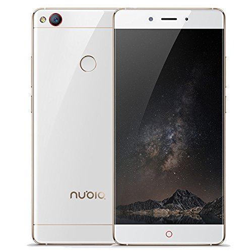 ZTE nubia Z11 (4GB+64GB) 5.5 Inch, Snapdragon 820 Quad-core 2.15 GHz, GSM & WCDMA & FDD-LTE (White Gold)