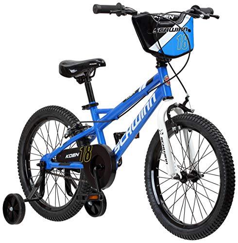 Schwinn Koen Boy's Bike with SmartStart, 18' Wheels, Blue