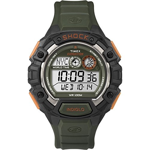 Timex Men's  T499749J Digital Quartz Expedition  Global Shock Yellow/Black Watch