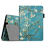Fintie Folio Case for Kindle Fire HD 7' (2013 Old Model) - Slim Fit Folio Case with Auto Sleep/Wake Feature (Will only fit Amazon Kindle Fire HD 7, Previous Generation - 3rd), Blossom