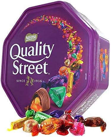Nestle Quality Street Tin Extra Large, 900 Gram Can: Amazon.co.uk ...