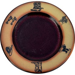 Rodeo Dinner Plate