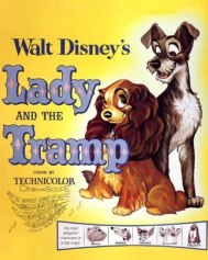 Amazon.com: Lady and the Tramp - 1955 - 11 x 14 Movie Poster - Style A: Prints: Posters & Prints