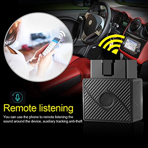 GPS Tracker, VIFLYKOO No monthly Fee OBD GPS Tracker for vehicle, Real-Time  Car Tracking Device for Teen Driving Coach, Driving Alerts