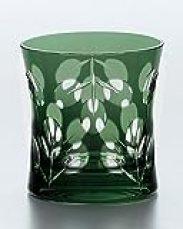 Distilled Spirits Rock Glass Yachiyo Kiriko Mukaihaginoha