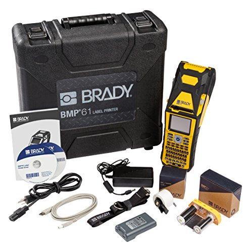 Brady BMP61 Portable Handheld Label Printer (BMP61-W) - Wi-Fi Capable