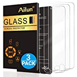 Ailun Screen Protector Compatible with iPhone 8 7 6s 6  4.7 Inch 3 Pack 2.5D Edge Tempered Glass Compatible with iPhone 7 8 6s 6 Case Friendly