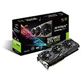 ASUS ROG-STRIX-GTX1080-O8G-11GBPS ROG Strix GeForce GTX 1080 8GB 11Gbps OC Edition VR Ready HDMI DP DVI Gaming Graphics Card