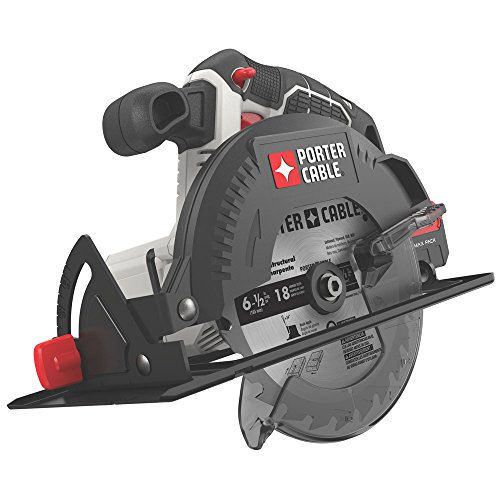 PORTER-CABLE 20V MAX 6-1/2-Inch Cordless Circular Saw, Tool Only (PCC660B)