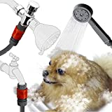 YOO.MEE Quick Connect Pets Shower Spray Suitable for In-Door and Out-Door Bath Showering, Attached on either Shower Arm or Garden Taps for much Portable and Convenient
