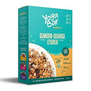 Yogabar Wholegrain Breakfast Muesli - Almond + Quinoa Crunch, 400g 25  Yogabar Wholegrain Breakfast Muesli – Almond + Quinoa Crunch, 400g 51aUJWynCvL