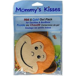 Spa Comforts Mommy's Kisses, Reusable Childrens Hot and Cold Pack, Monkey