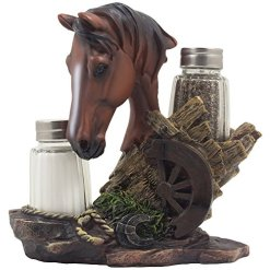 Horse Salt & Pepper Shaker Set