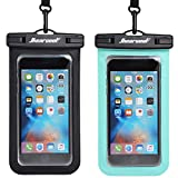 Universal Waterproof Case - Ansot IPX8 Waterproof Phone Pouch - Cellphone Dry Bag for iPhone X/8/ 8plus/7/7plus/6s/6/6s Plus Samsung Galaxy s8/s7 Google Pixel 2 HTC LG Sony Moto up to 7.0' - 2 Pack