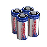 Tenergy 3V CR123A Lithium Battery, High Performance 1500mAh CR123A Cell Batteries [UL Certified] PTC Protected for Cameras, Flashlight Replacement CR123A Batteries, 20-Pack