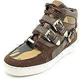 Michael Michael Kors Robin High Top Women US 8.5 Brown Sneakers