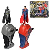 Flying Heroes Mini Batman & Mini Superman Action Figure