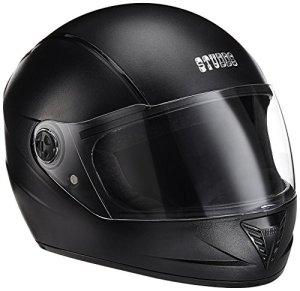 Studds Professional Helmet BK/BStrip (L – Head Size:58CM)