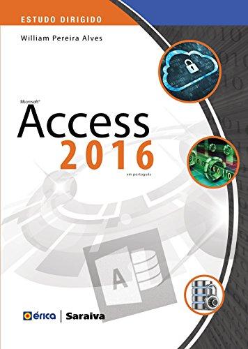 Estudo dirigido: Microsoft access 2016 em português