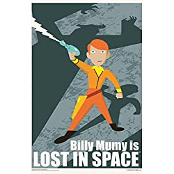Billy Mumy is Lost In Space by Juan Ortiz Art Print Poster 12x18
