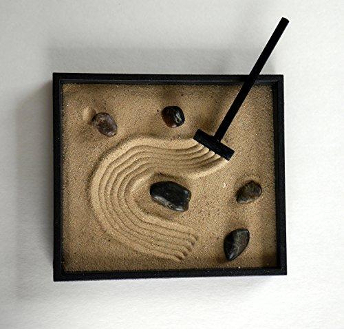 Zen-Garden-Kit-Black-Indoor-Zen-Garden-Relaxation-Gift-Handmade