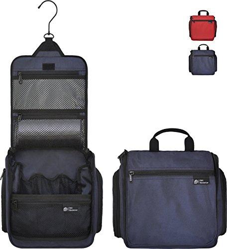 D&D Hanging Toiletry Bag – Designer Travel Organizer for Makeup and...