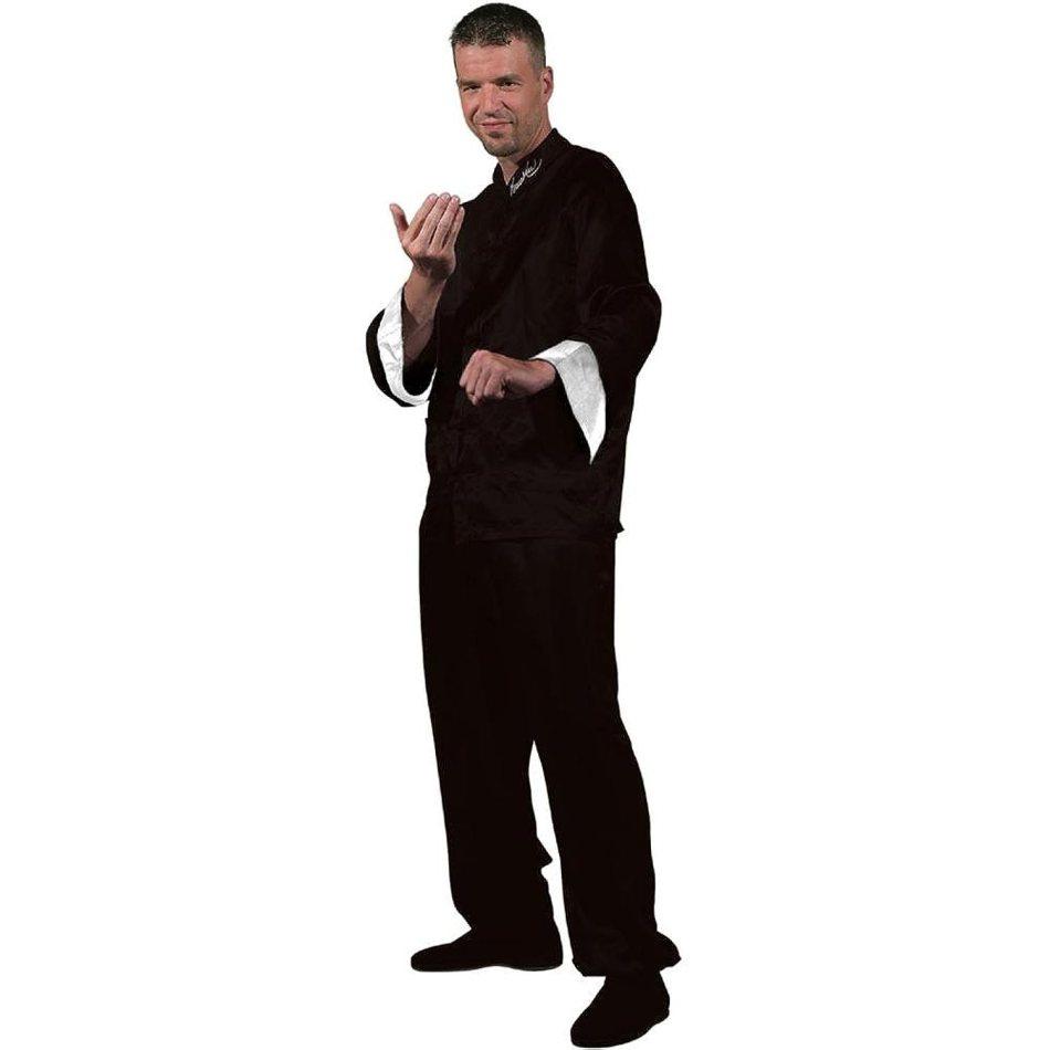 Bruce Lee Black Kung Fu Costume
