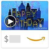 Amazon eGift Card - City Lights Birthday (Animated)) [American Greetings]