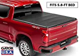 Gator ETX Soft Tri-Fold Truck Bed Tonneau Cover   59115   2019 Chevy/GMC Silverado/Sierra 1500 (5.8' bed), New Body Style   MADE IN THE USA